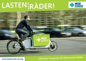 """Projekt """"Lasten auf die Räder!"""" des Verkehrsclub Deutschland (VCD)"""