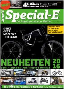 Download: aktuelle Special-E Titelseite + Cargobike-Kolumne