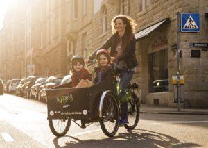 Promotion Video von Hyggelig-Bikes für dreirädrige Christiania Cargobikes.