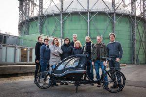 Projekt- und Beiratsmitglieder von TINK im Dezember 2015 in Berlin.