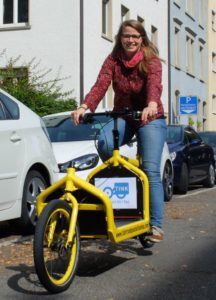 "Cargobike-Testaktion von TINK in Konstanz: ""Transport Mi(e)t Rad"""