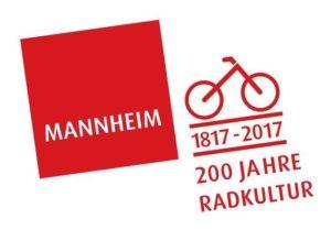 200 Jahre Radkultur - Logo der Stadt Mannheim