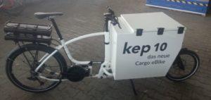 Der neue Kep10 von Urban-e im Einsatz bei Amazon