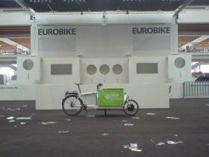 Auf der Eurobike 2014: Das letzte Cargobike macht die Türe zu