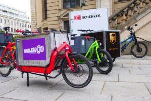 Vom selbstorganisierten Berliner Kurierkollektiv bis zu den global Players. Foto: cargobike.jetzt
