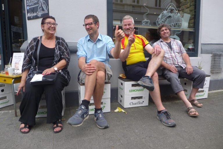 Cargobike Roadshow 2016 in Wiesbaden mit Support von DHL Express und Biohof Ardema. Foto: cargobike.jetzt