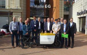 "European Cycle Logistics Conference in Wien: ""Berliner Runde"" mit Verkehrsstaatssekretär Kirchner"