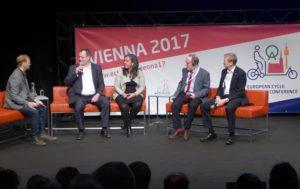 Berliner Verkehrsstaatssekretär Kirchner bei European Cycle Logistics Conference